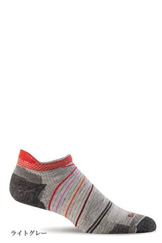 Sockwell [ソックウェル]【SW45W】 Pacer Micro Ladies レディース ソックス 靴下 ショート スニーカー丈 防臭効果 通気性 温度調整 湿度調整 蒸れない ヘルスケア おしゃれ 〔sports-スポーツ-フィットネス・ランニング〕