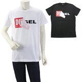 【楽天カードでWエントリーでP14倍】ディーゼル DIESEL T-DIEGO-QA デザインTシャツ 00S02X 0091B