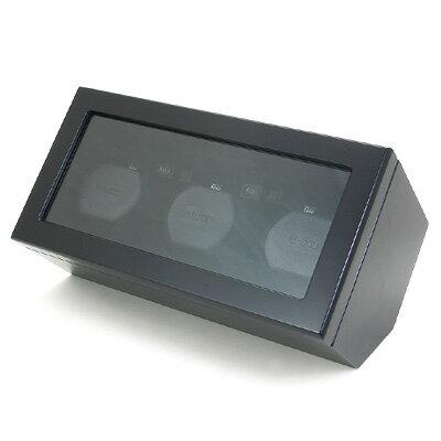 BOXY ウォッチワインダー (3本巻き) DC03DS-BK 時計/ウォッチ