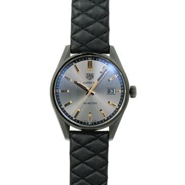 タグ・ホイヤー TAG Heuer カレラ ユニセックス WAR1113.FC6392 アンスラサイト/ブラックキルティングレザー 時計/ウォッチ