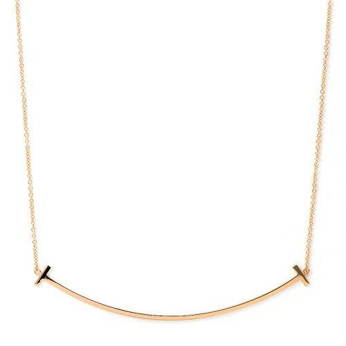 ティファニー TIFFANY Tスマイル ペンダント 33637152 K18ピンクゴールド ネックレス:サントノーレ