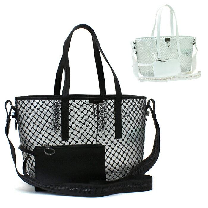 產品詳細資料,日本Yahoo代標|日本代購|日本批發-ibuy99|包包、服飾|包|女士包|手提袋|オフホワイト Off-White バッグ トートバッグ(ショルダー付) ショッパーPVCネット S…