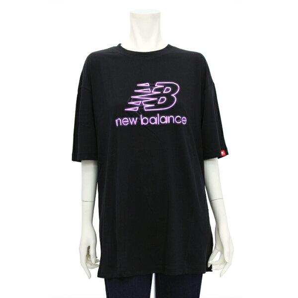 ニューバランスnewbalanceエッセンシャルズトウキョウナイツオーバーサイズショートスリーブTシャツWT01537レディース