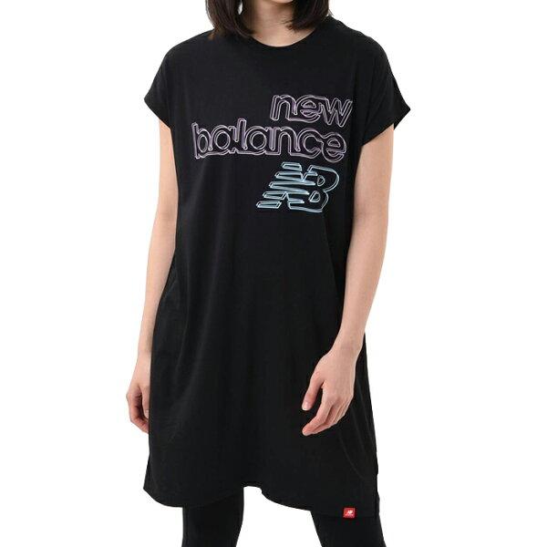 ニューバランスnewbalanceエッセンシャルズトウキョウナイツTシャツWD01504レディース国内正規品