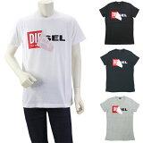 ディーゼル DIESEL T DIEGO QA デザインTシャツ 半袖ロゴカットソー 00S02X 0091B メンズ【キャッシュレス還元対応】