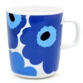 マリメッコ ウニッコ マグカップ 63431-017 ブルー250ml