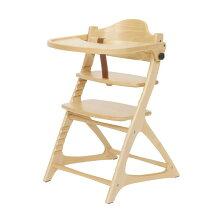 ベビーチェア大和屋セーフティチェアベルト付maternaTable&Guardマテルナテーブル&ガード木製ナチュラル色