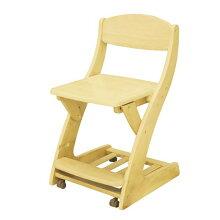 木製学習椅子デスクチェアフィットチェアWC-16ライトブラウン色