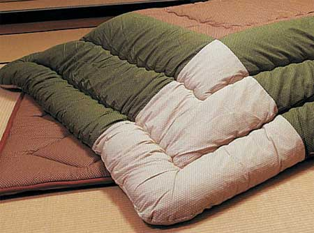 長方形こたつ布団掛敷セット 120巾こたつ用 切替柄の紹介画像3