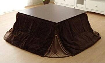 こたつ布団ふんわり素材小型長方形こたつ薄掛布団60×90センチこたつ用フィリップブラウン色あす楽対応