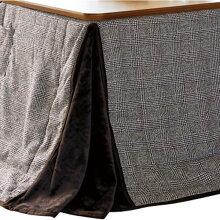 ダイニングこたつ布団長方形120×80巾コタツ用グレン120ハイタイプ高脚用薄掛け布団グレンチェック柄