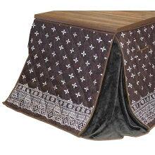 ダイニングこたつ布団長方形180×90コタツ用マホン180ハイタイプ高脚用薄掛け布団