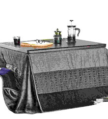 ハイタイプ大判こたつ布団/ダイニングコタツふとん長方形135~140×80巾こたつ用薄掛け布団和柄280225×280ハイタイプ