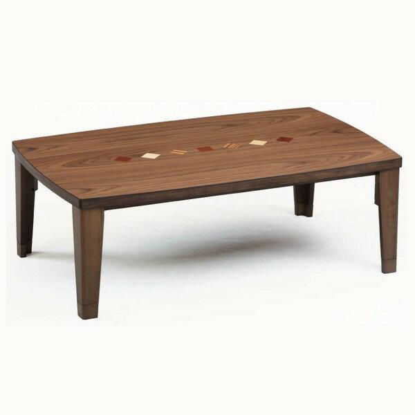 こたつテーブル コタツ モダンこたつ チョコ105 長方形105幅 L-033:さぬきや 家具とインテリアのお店