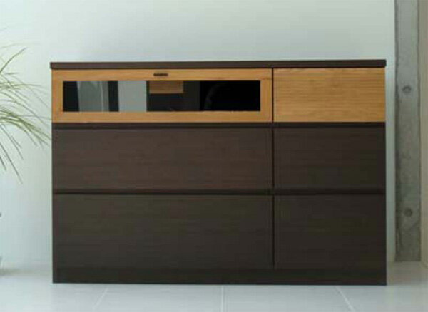ハイタイプ木製テレビ台120センチ幅 モダン北欧デザイン 完成品 FE120TVチェスト:さぬきや 家具とインテリアのお店