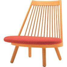 和風座いす布張り高座椅子スポークチェアー天童木工