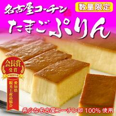 名古屋コーチン卵100%使用もっちり濃厚名古屋コーチンたまごぷりん