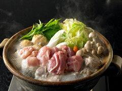 名古屋コーチンのガラから炊きだしたスープが一体感を生む、究極の水炊き鍋!【鶏肉の最高峰】...