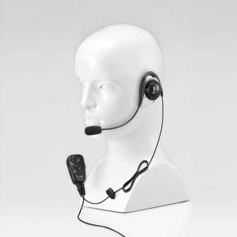 《HS-94+VS-2L》(アイコム/イヤーフック型ヘッドセット)手を使わずに通話できるVOX対応スイッチユニット(VS-2L)付き 特定小電力無線機 IC-4100 / IC-4110 用