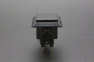 ハメ込み式押しボタン24φ正方形 スプリング付き 【OBSF-24KK-S-K】