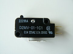 オムロン製マイクロスイッチ[押圧10g]【D2MV-01-1C1】