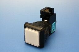 照光式押しボタンA型30φ正方形(リードスイッチ一体型)(ランプ無し)【OBSA-30AK】