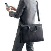 【送料無料】2WAYビジネスバッグ 15.6インチ 軽量 スリムなのに大容量 手提げ・ショルダーの2WAY A4書類収納可 メンズ パソコンバッグ ビジネスバック [200-BAG067]【サンワダイレクト限定品】