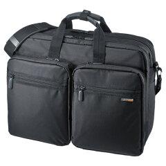 【送料無料】3WAYビジネスバッグ 15.6インチワイド ダブル 出張用 手提げ・ショルダー・…