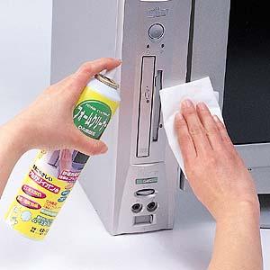 【サンワサプライ直営店】フォームクリーナー 300ml パソコン、キーボード、OA機器などの汚れ...