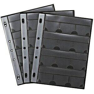 ファイルメモリーカードケース用シート(サンワサプライ製FC-MMC8BK専用オプション)メディアケース