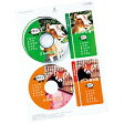 CDラベル DVDラベル 2面付×10枚 内径41mm マット紙 [LB-CDRJPN]【サンワサプライ】【ネコポス対応】【楽天BOX受取対象商品】