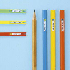 【サンワサプライ直営店】お名前シール 鉛筆用 400枚分 入園・入学準備に 子供のための名入れラ...