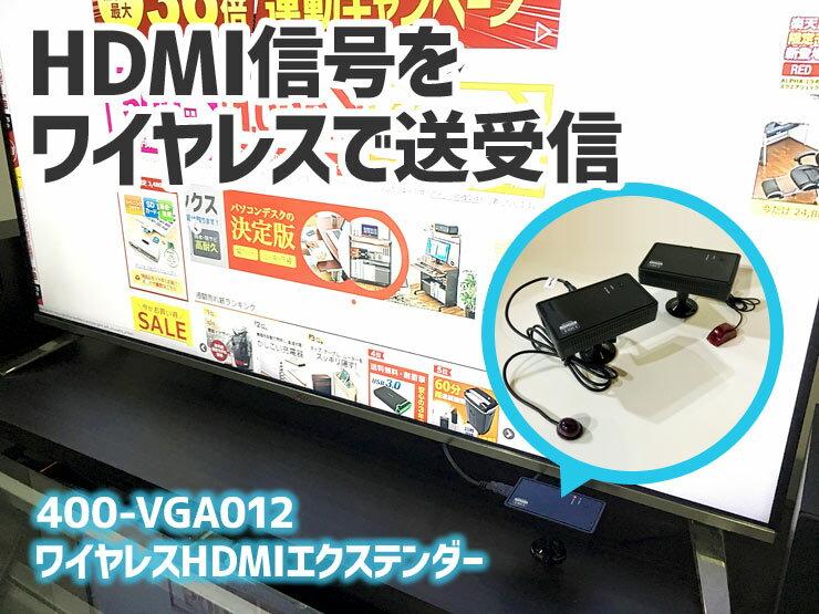 ワイヤレスHDMIエクステンダーを、使ってみました。