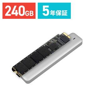 【送料無料】Transcend SSD Macbook Air専用アップグレードキット 240GB JetDrive 500 SATAIII対応 [TS240GJDM500]