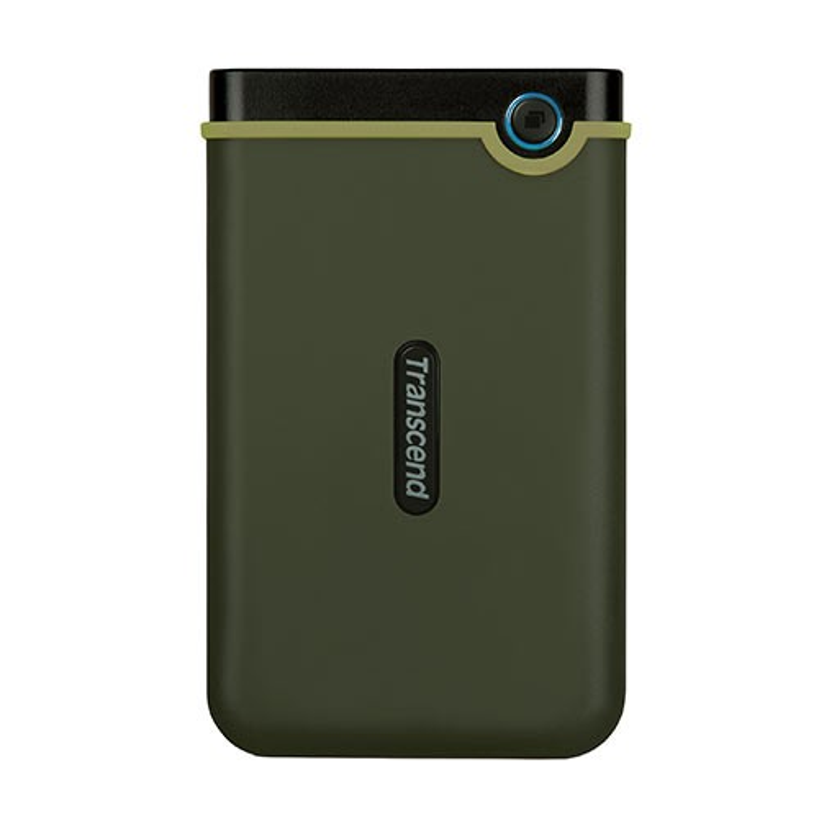 Transcend ポータブルHDD 2TB StoreJet 25M3 外付けハードディスク 耐衝撃 3年保証 ハードディスク 外付けHDD ポータブルハードディスク