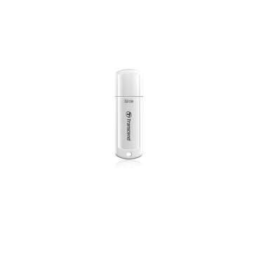 Transcend USBメモリ 32GB USB3.0 JetFlash730 光沢ホワイトボディ USBメモリー 高速 大容量 入学 卒業[TS32GJF730]【ネコポス専用】【今だけ送料無料!】
