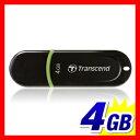 Transcend USBメモリ 4GB JetFlash300 軽量ボディ USBメモリー [TS4GJF300]【ネコポス対応】【楽天BOX受取対象商品】
