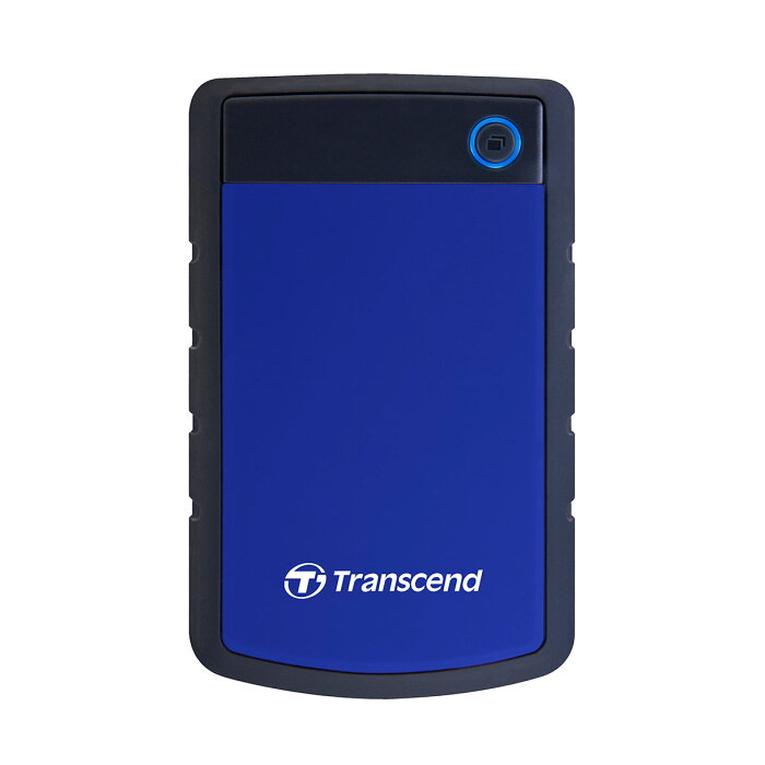 【エコバッグ付き】Transcend ポータブルHDD 4TB USB3.1 Gen1対応 耐衝撃シリコンケース 3年保証 外付けハードディスク 外付けHDD ポータブルハードディスク トランセンド StoreJet
