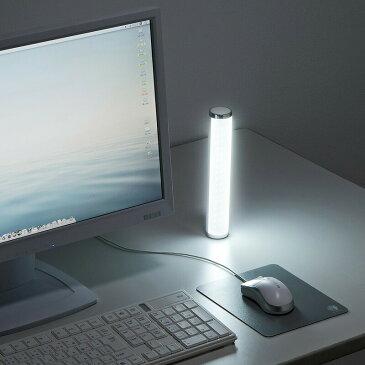 LEDポータブルライト USB充電式 ホワイト 懐中電灯 防災 充電式[USB-TOY90W]【送料無料】