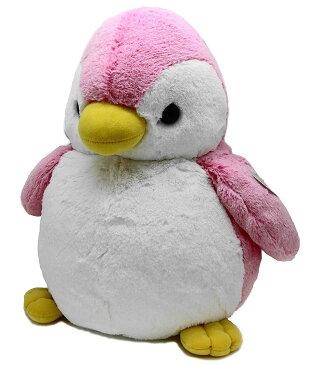 パウダーキッズ ペンギン L ピンク ぬいぐるみ オーロラワールド(AURORA WORLD) 海の生き物