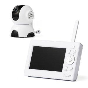 ワイヤレスカメラ モニターセット ハイビジョン画質 防犯カメラ ベビーモニター 無線 暗視撮影 遠隔操作 ベビーカメラ ベビーモニター