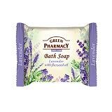 Elfa Pharm エルファファーム Green Pharmacy グリーンファーマシー Bath Soap バスソープ Lavender with Flaxseed Oil ラベンダー&フラックスシードオイル【ボディケア】【お試し】【旅行】【便利】【アロマ】【プレゼント】【楽ギフ_包装】【RCP】【固形石鹸】