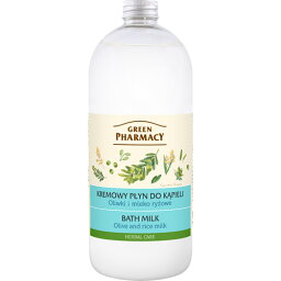 Elfa Pharm エルファファーム Green Pharmacy グリーンファーマシー Bath Milk バスミルク Olive&Rice Milk オリーブ&ライスミルク【ボディケア】【低価格】【旅行】【便利】【アロマ】【プレゼント】【楽ギフ_包装】【RCP】【10P05Nov16】