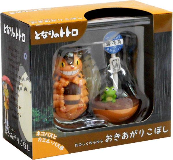 產品詳細資料,日本Yahoo代標 日本代購 日本批發-ibuy99 となりのトトロ ネコバス たのしくゆらゆら おきあがりこぼし【キャラクター グッズ おもちゃ ジブ…