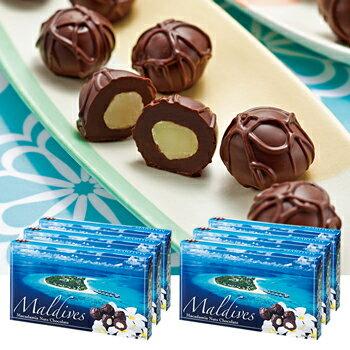 モルディブお土産モルディブマカデミアナッツチョコレート6箱セット|モルディブ土産モルディブみやげモルディブおみやげ海外お土産