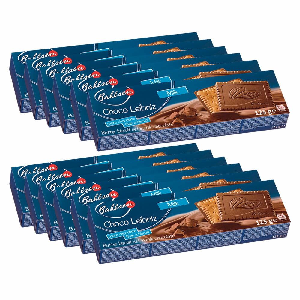 [5000円以上で] ドイツお土産 | バールセン チョコビスケット チョコライプニッツ 12箱セット【191112】