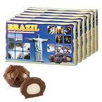 [送料無料] ブラジルお土産 | ブラジル マカデミアナッツチョコレート 6箱セット【182132】