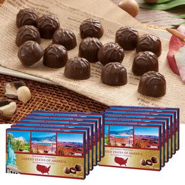 [送料無料] アメリカお土産   アメリカ世界遺産チョコレート 12箱セット【202003】