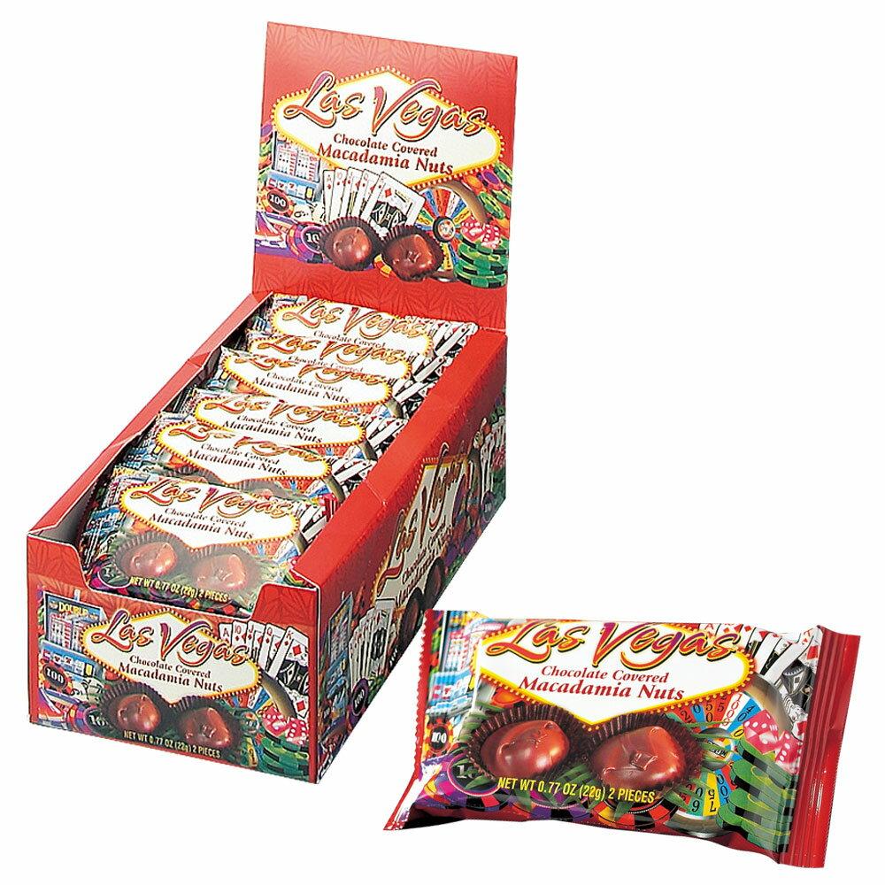 [] アメリカお土産 | ラスベガス マカデミアナッツチョコレート 18袋セット【182037】