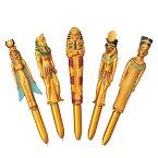 [5400円以上で送料無料] エジプトお土産 | エジプトボールペン 5本セット【191341】